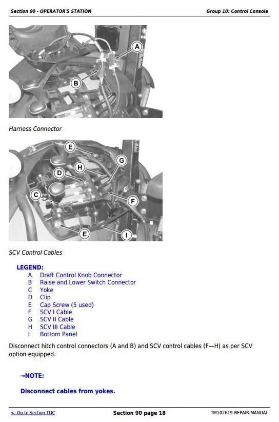 John Deere 5065m  5075m  5085m  5095m  5105m  5105ml  U0026 5095mh Tractors Repair Service Manual