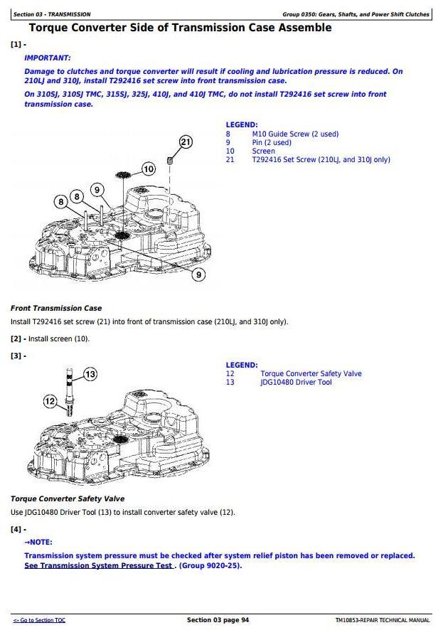 John Deere 310sj Backhoe Wiring Diagram. . Wiring Diagram on