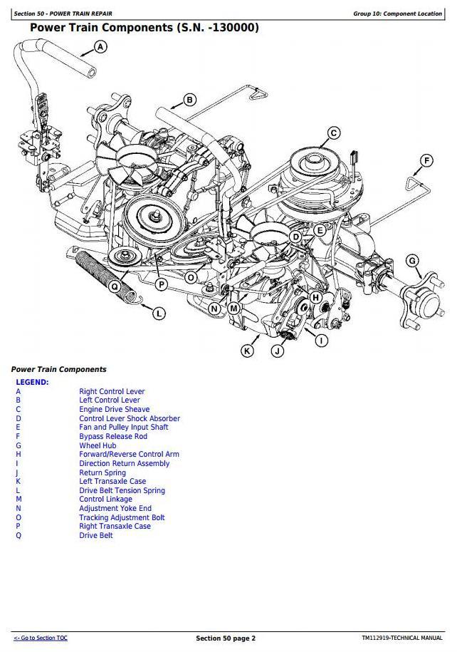 [DIAGRAM_09CH]  John Deere Z225, Z245, Z235, Z255 EZtrak Riding Lawn Residential Mower  Technical Service Manual TM112919 / Truck Service Manual Store | John Deere Z225 Wiring Diagram |  | Berlogic