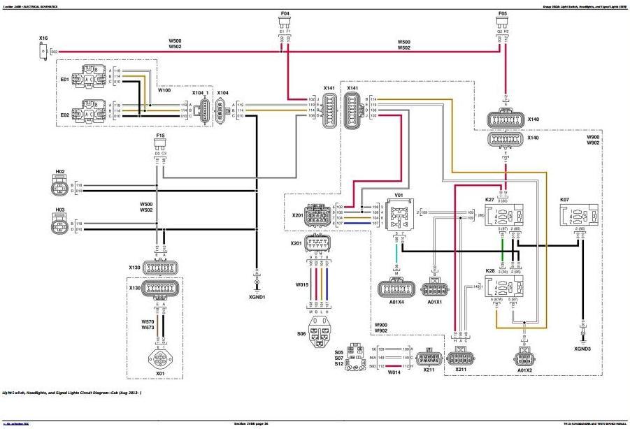John Deere 5075m  5085m  5100m  5100mh  5100ml  5115m  5115ml Tractors Diagnosis Manual