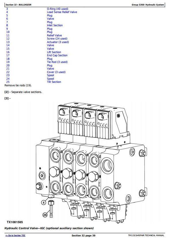 John Deere 850J Crawler Dozer with Engine 6068HT090 Service Repair Technical Manual (TM12323) - 1
