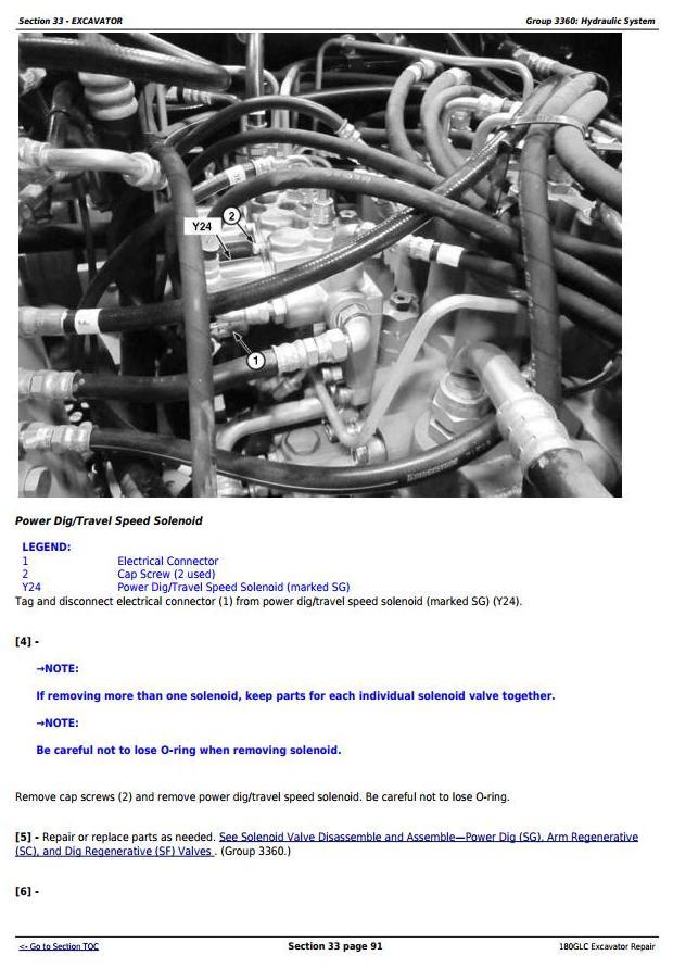 John Deere 180GLC (PIN: 1FF180GX__E020001-) iT4/S3B Excavator Service Repair Manual (TM12339) - 2