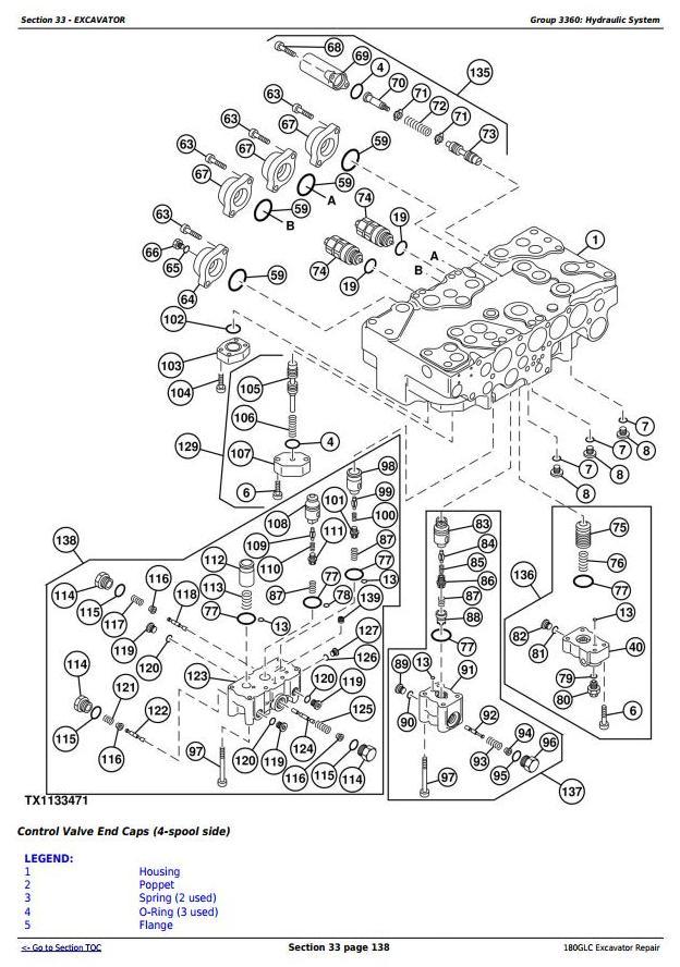 John Deere 180GLC (PIN: 1FF180GX__E020001-) iT4/S3B Excavator Service Repair Manual (TM12339) - 3