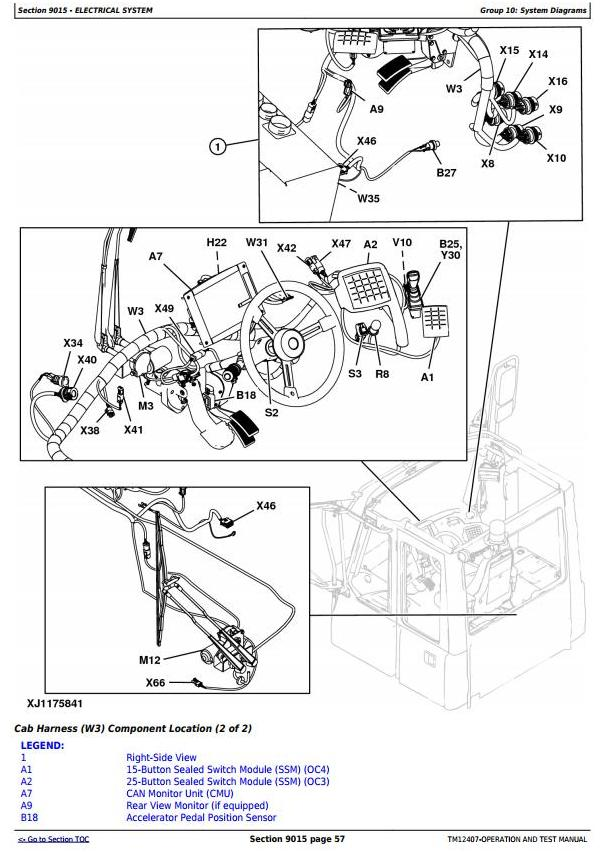 John Deere 370E, 410E, 460E Articulated Dump Truck (SN. C634583-668586) Diagnostic Manual (TM12407) - 2