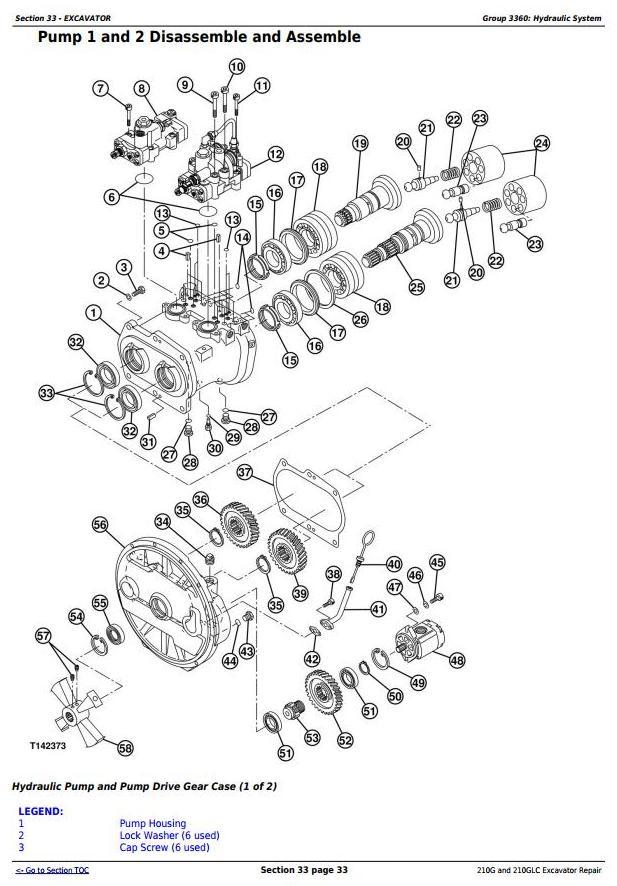 John Deere 210G and 210GLC (PIN: 1FF210GX__C520001-) T2/S2 Excavator Service Repair Manual (TM12539) - 2
