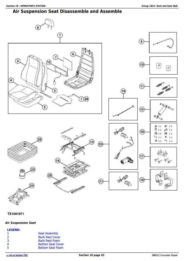 John Deere 380GLC Excavator (PIN: 1FF380GX__E900001-) iT4/S3B Service Repair Manual (TM12566) - 2