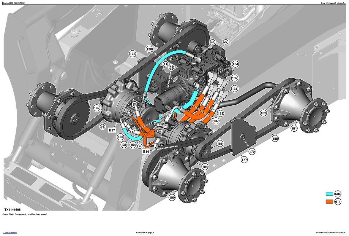 John Deere 318E, 320E Skid Steer Loader w. EH Controls Diagnostic & Test Service Manual (TM13085X19) - 1