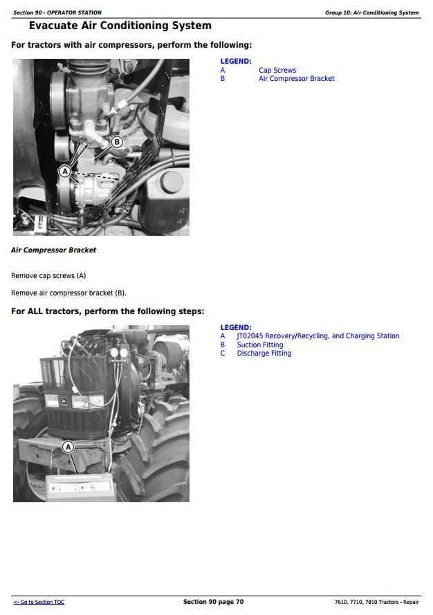 John Deere 7610, 7710, 7810 2WD or MFWD Tractors Service Repair Technical Manual (TM1651) - 3