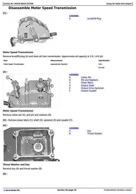 John Deere Central Commodity System Seed Metering for Air Seeders Service Repair Manual (TM2065) - 3