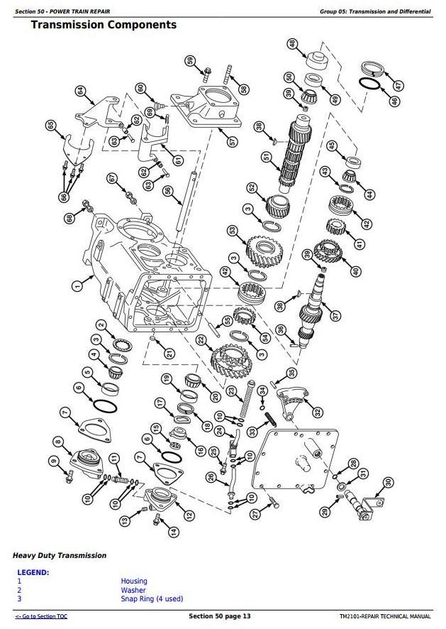 John Deere 9650STS (SN.695501-), 9750STS (SN.695601-) Combines Service Repair Technical Manual (TM2101) - 1