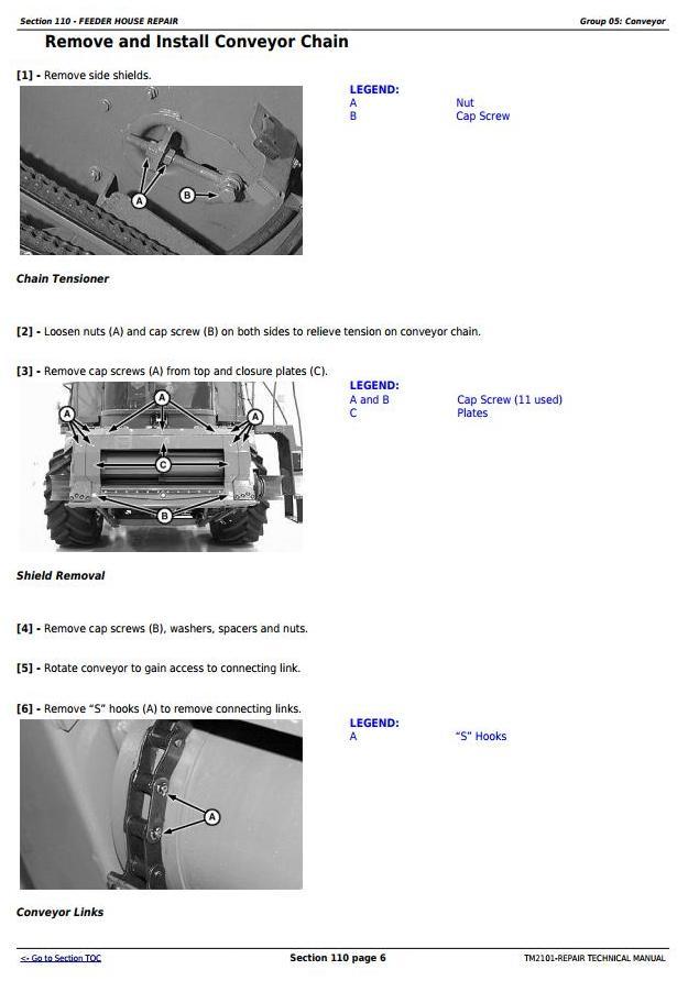 John Deere 9650STS (SN.695501-), 9750STS (SN.695601-) Combines Service Repair Technical Manual (TM2101) - 3