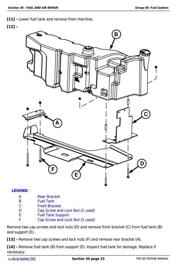 John Deere Tractors 5225  5325  5425  5525  5625  5603 Service Repair Technical Manual  Tm2187