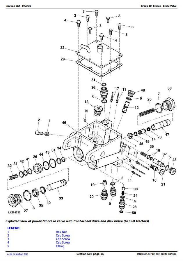 John Deere M655 Parts