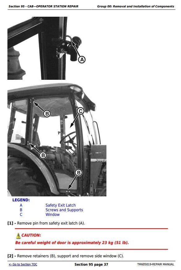 John Deere Tractors 6100D, 6110D, 6115D, 6125D, 6130D & 6140D Service Repair Technical Manual (TM605019) - 3
