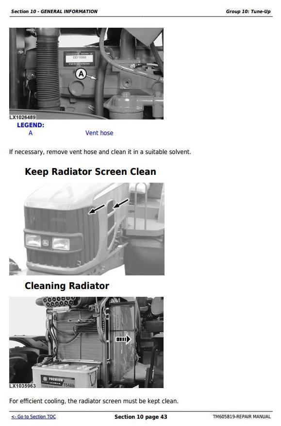 John Deere 7425, 7525, 6140J, 6155J, 6155JH Tractors Service Repair Manual (TM605819) - 3