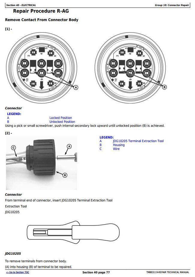 John Deere 4630 Self-Propelled Sprayers (PIN Prefix 1NW) Service Repair Technical Manual (TM803119) - 1
