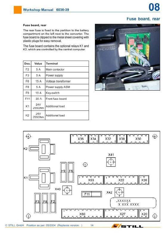 Still R60-20, R60-22, R60-25, R60-30, R60-35, R60-40, R60-45, R60-50 Forklift Truck Workshop Manual - 1