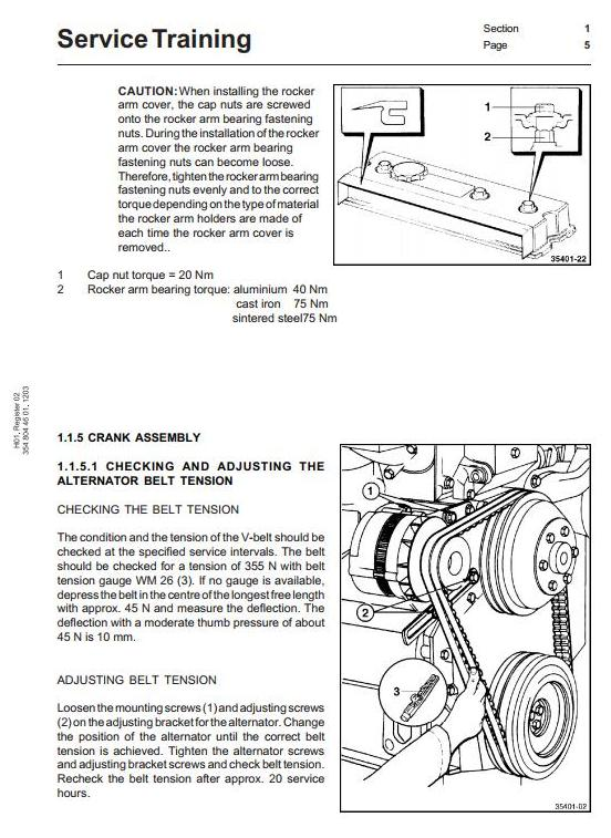Linde H100, H120, H136, H140, H150, H160 Forklift Truck H354 Series Service Training Workshop Manual - 1