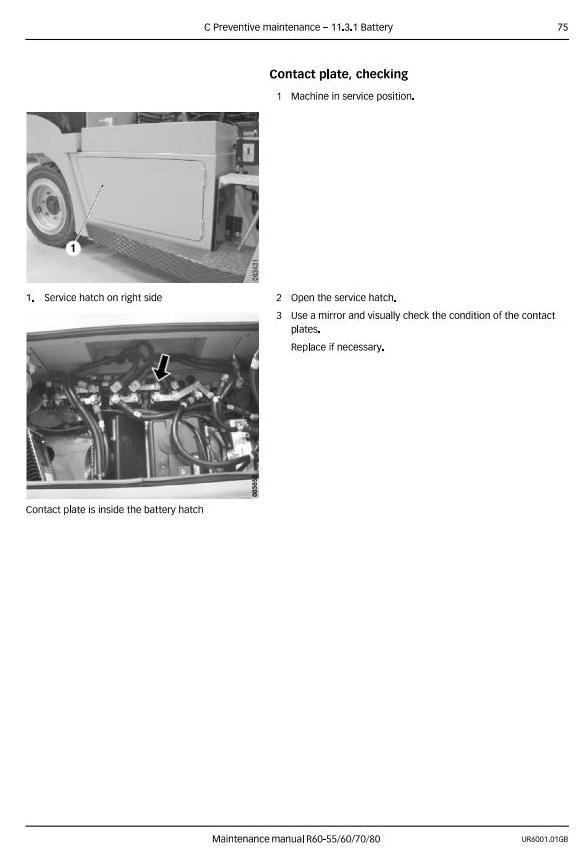 Still R60-55, R60-60, R60-70, R60-80 Forklift Truck Series 6125-6128 Maintenance Service Manual - 2