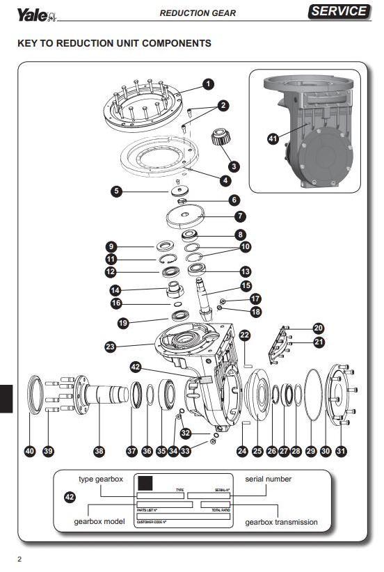Yale MR14, MR16, MR16N, MR16HD, MR20, MR20HD, MR25 Reach Truck D849 Series Workshop Service Manual - 3
