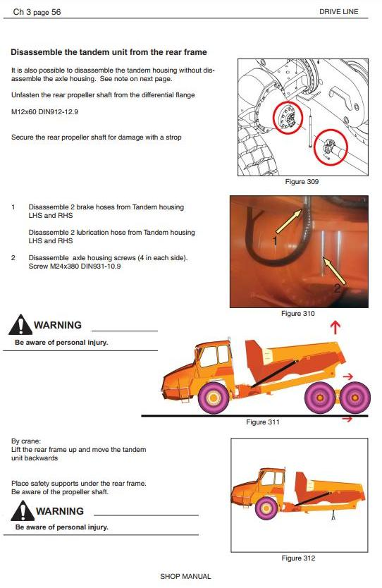Doosan DA30 Articulated Dump Truck Workshop Service Manual - 3
