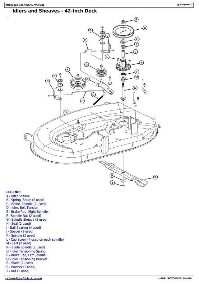 [ZTBE_9966]  John Deere LA105, LA115, LA125, LA135, LA145, LA155, LA165, LA175 Lawn  Tractors Technical Manual TM103419 / Truck Service Manual Store   La135 John Deere Wiring Diagram      Berlogic