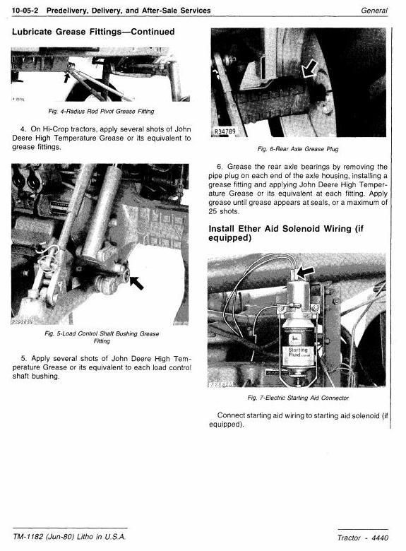 John Deere 4440 Row Crop Tractor Diagnostic and Repair Technical Manual (tm1182) - 3
