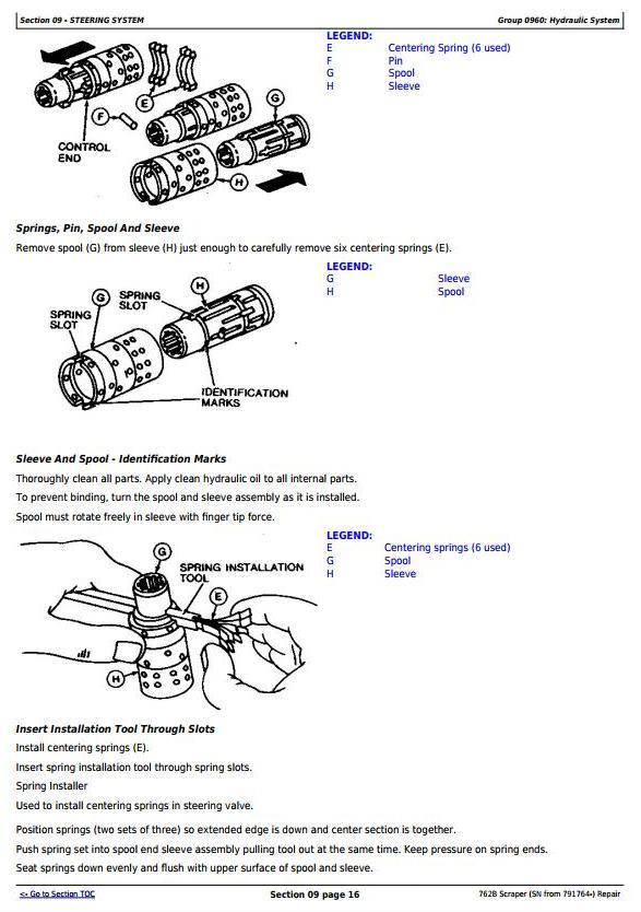 John Deere 762B (SN from 791764-) Scraper Service Repair Technical Manual (tm1568) - 1