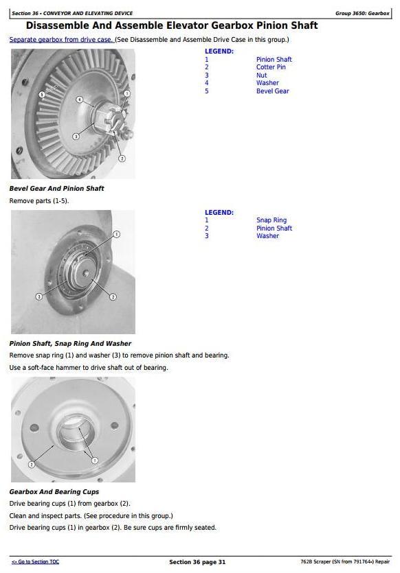John Deere 762B (SN from 791764-) Scraper Service Repair Technical Manual (tm1568) - 2