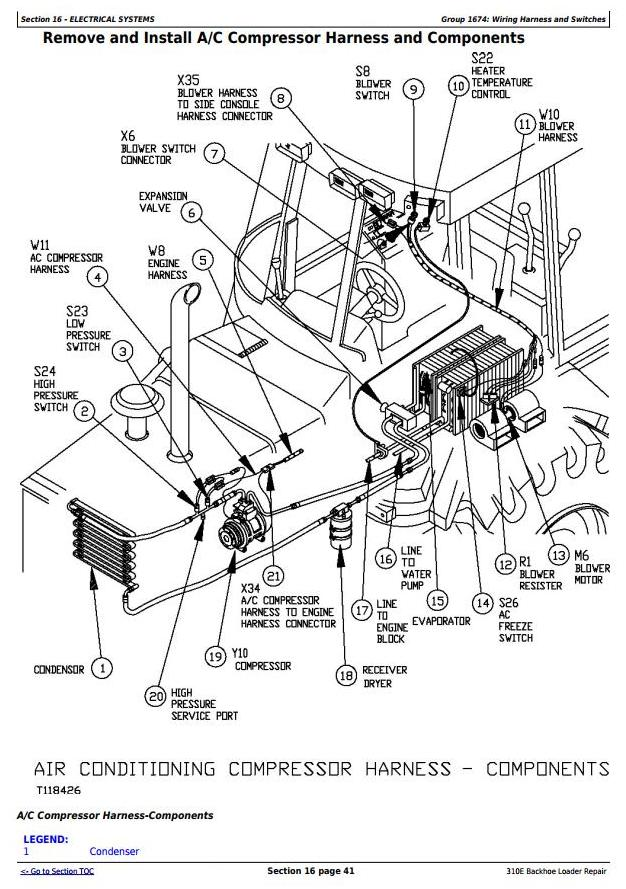[ANLQ_8698]  John Deere 310E Backhoe Loader Service Repair Technical Manual (tm1649) /  Truck Service Manual Store | John Deere 310 Wiring Diagram |  | Berlogic