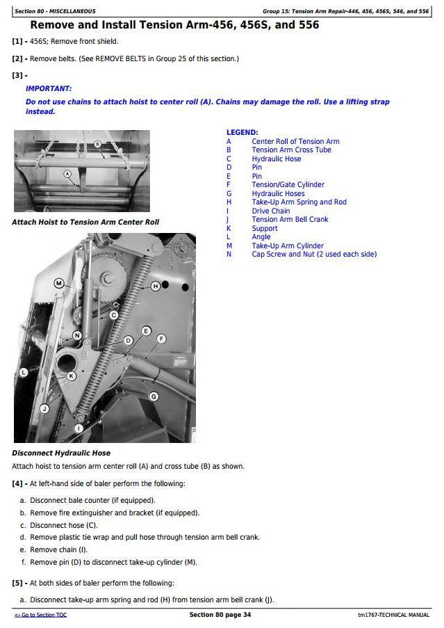 Deere 466 Baler Wiring Diagram  Mower Diagram, Parts Diagram, Wood