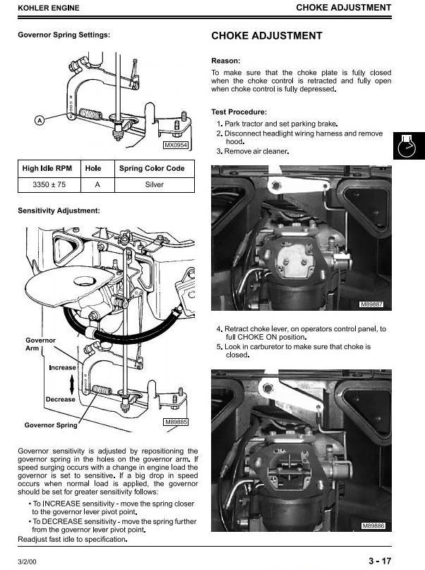 John Deere Scotts S2048H, S2348H, S2554H Yard & Garden Tractors () Technical Service Manual (tm1777) - 3