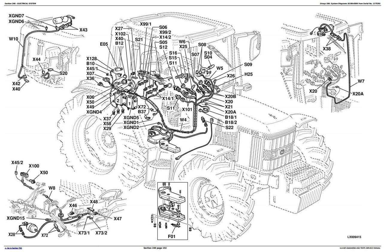John Deere 6400 Troubleshooting - Images Deer Collections ... on