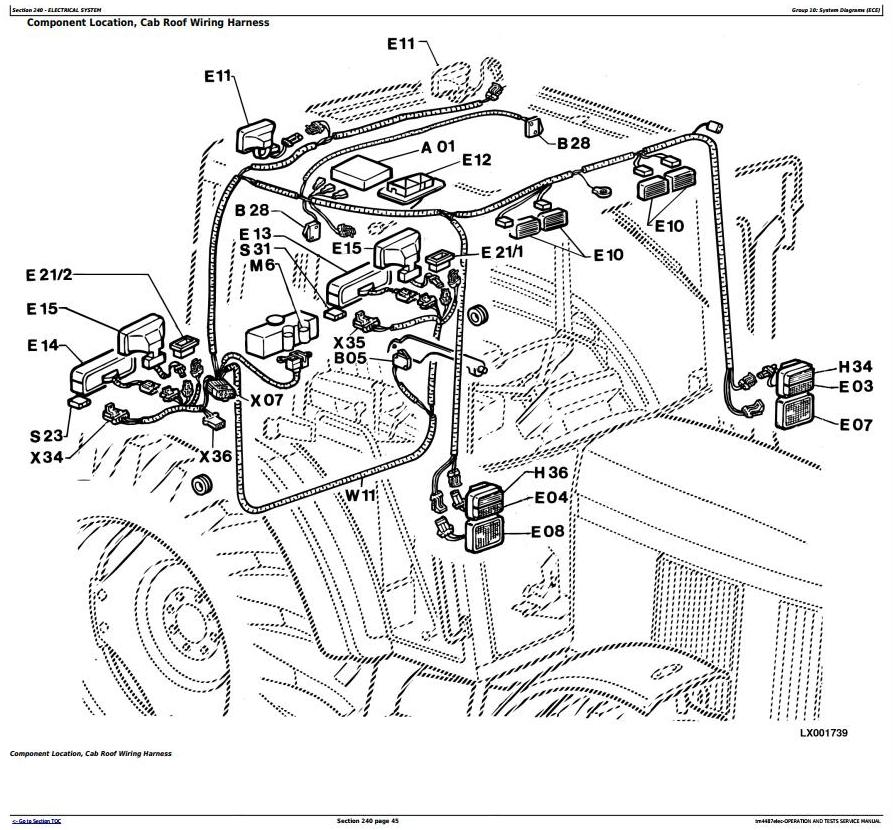6400 John Deere Tractor Wiring Diagram. John Deere 4300 ... Jd Wiring Diagram on