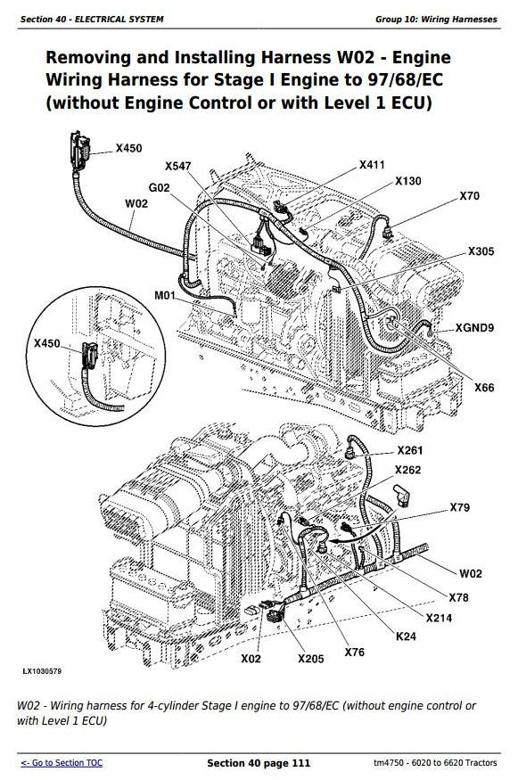 John Deere Tractors 6020, 6120, 6220, 6320, 6420, 6520, 6620 ... on john deere hydraulic system diagram, john deere 6420 transmission, john deere 6420 radiator, john deere tractors, john deere 6420 battery, john deere injection pump diagram, john deere 6420 control panel, john deere 6420 steering, john deere parts, john deere 6420 air conditioning, john deere 6420 specifications, john deere 6420 repair manual, john deere 6420 brochure, john deere 6420 accessories, kicker l7 wiring diagram, john deere 6420 tires,
