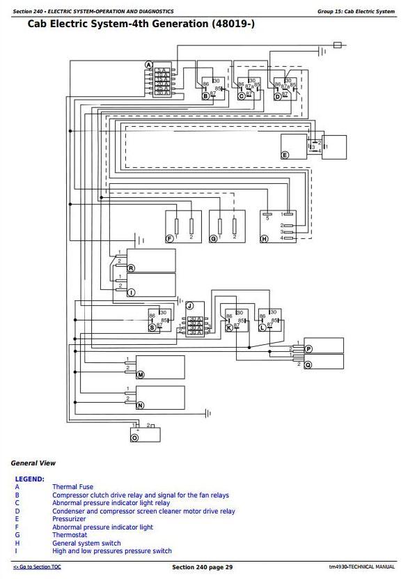 John Deere 1165, 1175 Combines (5.9L, 6.8L) , Diagnostic and Repair Technical Service Manual (tm4930) - 2