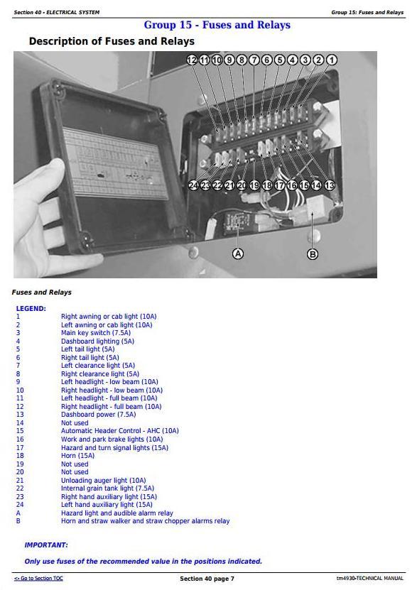 John Deere 1165, 1175 Combines (5.9L, 6.8L) , Diagnostic and Repair Technical Service Manual (tm4930) - 3