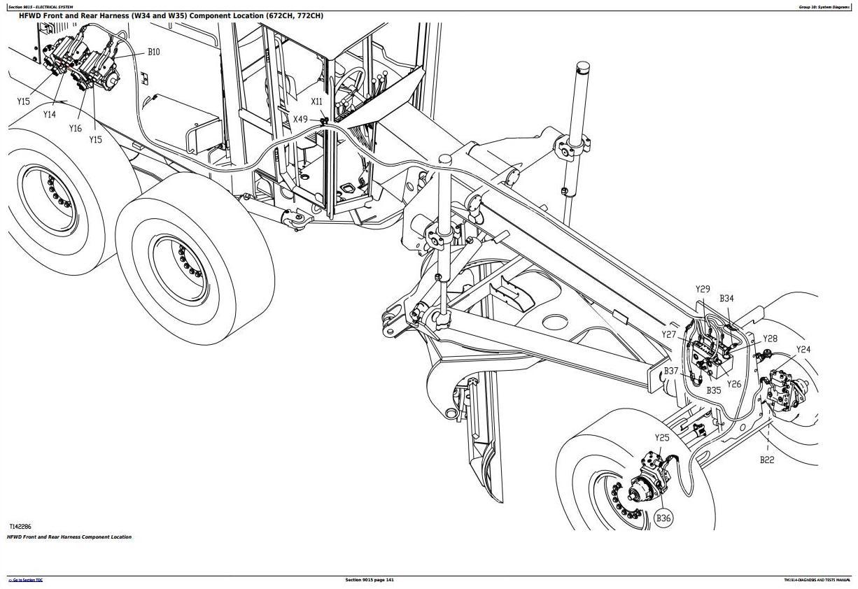 Bell 670ch Motor Grader Wiring Diagram