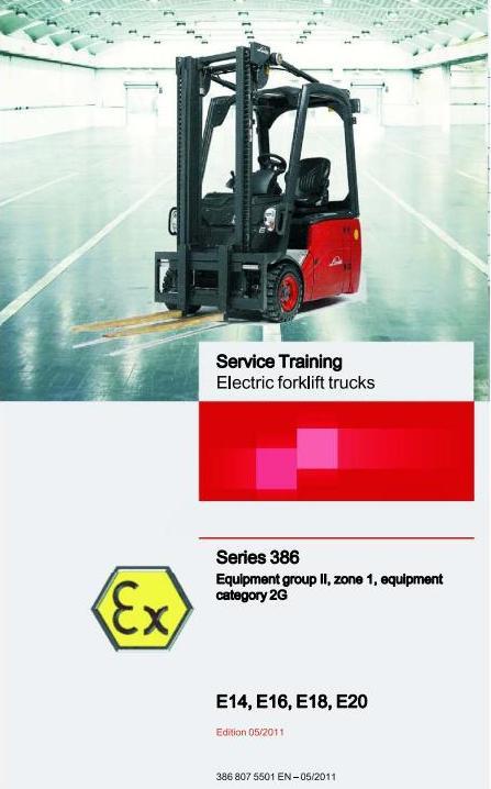 linde e16 service manual