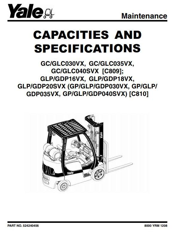 Yale Gdp Forklift Wiring Diagram    Wiring Diagram