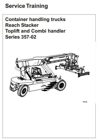 Linde C4026, C4030, C4230, C4234, C4531, C4535, C4540 Trucks 357-02 Series Service Training Manual