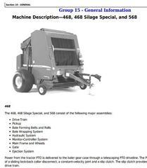 John Deere Hay and Forage Harvesters, Mowers Diagnostic