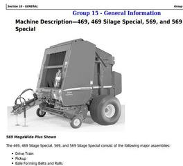 John Deere Hay and Forage Harvesters, Mowers Diagnostic