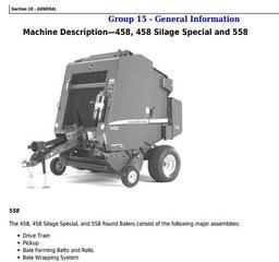 John Deere Hay and Forage Harvesters, Mowers Diagnostic, Repair